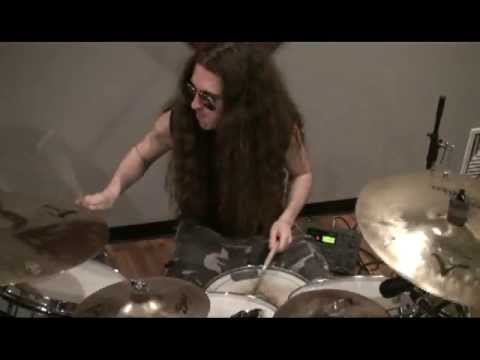 Decrepit Birth drumming
