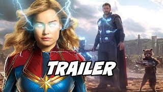 Captain Marvel Official Trailer Breakdown and Explained in Hindi