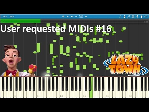 The Mine Song converted to MIDI?! | User requested MIDIs #16