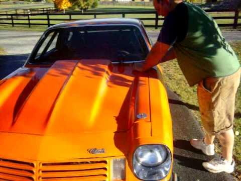 1974 vega 400 small block bad ass  car