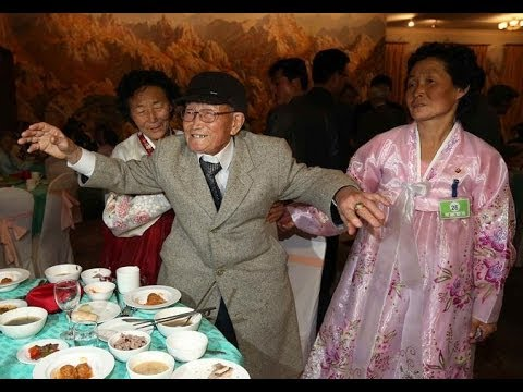 North and South Korean Family Reunions