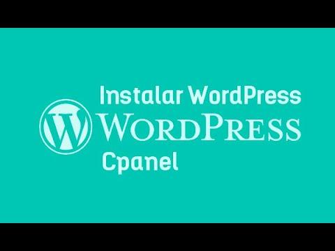 Instalando Wordpress.org desde Cpanel (Después de contratar Hosting con Webempresa)