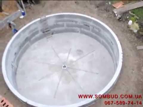 Бассейн нестандартные формы из бетона