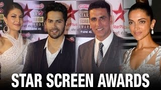 Star Studded 22nd Annual Star Screen Awards 2016