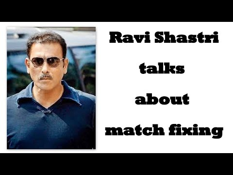 Ravi Shastri talking about Azhar , Kapil dev and Dawood Ibrahim
