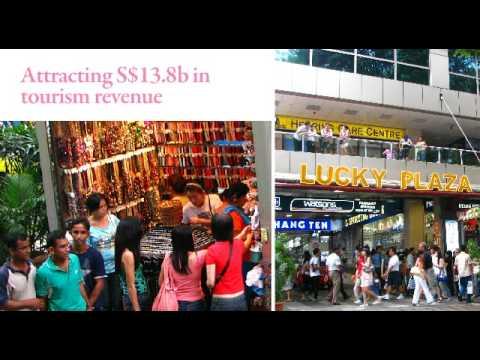 Singapore's Tourism, Hospitality & Retail 2009 (www.infocommsingapore.sg)