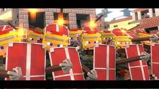 Rome the Last Hope - Overrun (Minecraft Animation)