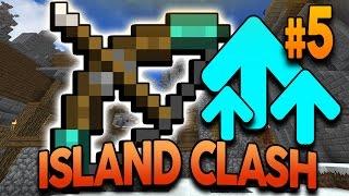 """Minecraft ISLAND CLASH: EPISODE 5 """"WEAPON UPGRADE FOR WAR!"""" w/ Preston and MrWoofless"""