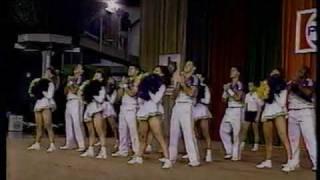 LSU at 1989 Cheerleading National Championship