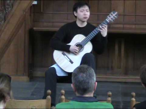 Roland Dyens: Valse des Loges, played by Cang Guan