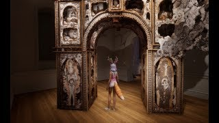 2018 7 25 VWT Sansar @ No Spectators, The Art of Burning Man, by Smithsonian American Art