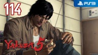 Yakuza 5 【PS3】 #114 │ Part 4: Tatsuo Shinada │ Chapter 2: Confronting the Past