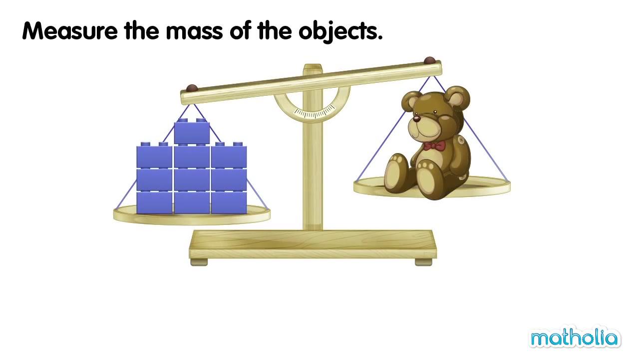Volume Measuring Instruments : Measuring mass non standard units youtube