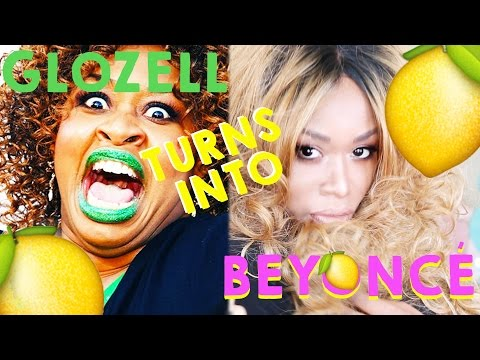 Beyoncé Glozell Transformation Challenge