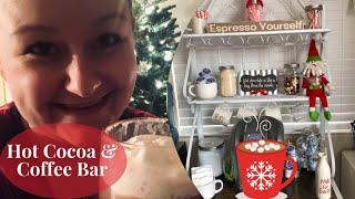 DIY: $20 Hot Cocoa & Coffee Bar   VLOGMAS 2018