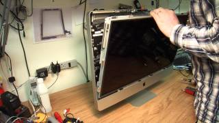 """How to disassemble 27"""" Apple iMac for repair or upgrade."""