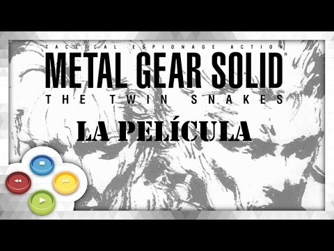 Metal Gear Solid Twin Snakes Pelicula Completa Audio Español