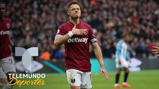 West Ham vs. Huddersfield Javier Chicharito Hernndez anot dos golazos y fue el hroe Telemundo