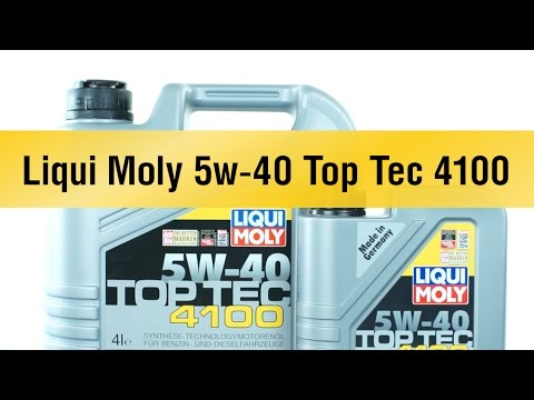 liqui moly 5w 40 top tec 4100. Black Bedroom Furniture Sets. Home Design Ideas