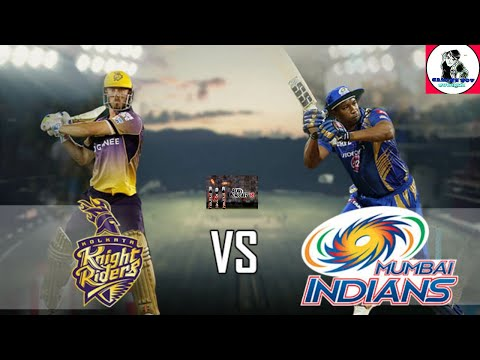Kolkata knight Riders vs mubai indians full match