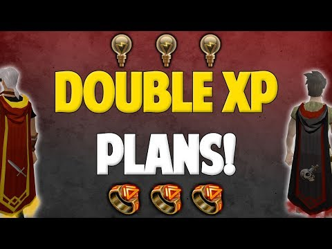 Runescape 2017 | Double XP Weekend Plans!