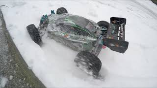RC Buggy 1:10 AMEWI Booster Pro Tuned on snow