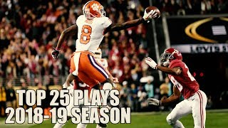 download lagu College Football Top 25 Plays 2018-19 Season ᴴᴰ gratis