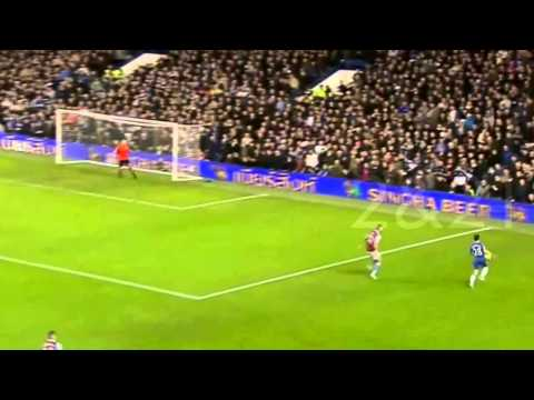 David Luiz As A Midfielder - Chelsea FC 2012 [HD]