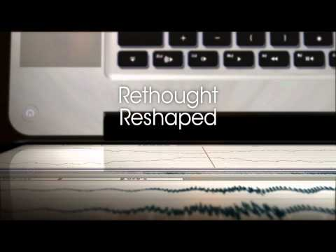 Audio editing redefined