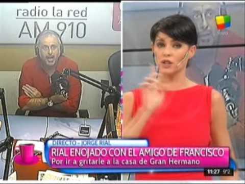 Jorge Rial y Luis Ventura se volvieron a cruzar al aire