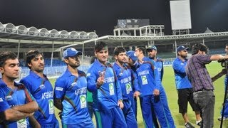 Afghanistan vs Kenya first T20 2013 Sharjah UAE