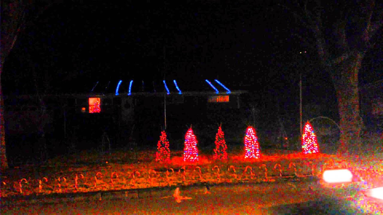Light o rama christmas display 2014. - YouTube