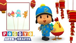 Pocoyo Arts & Crafts: Shadow Puppets | CHINESE NEW YEAR