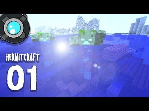 HermitCraft 6: 01 | Deep Sea TREASURE!