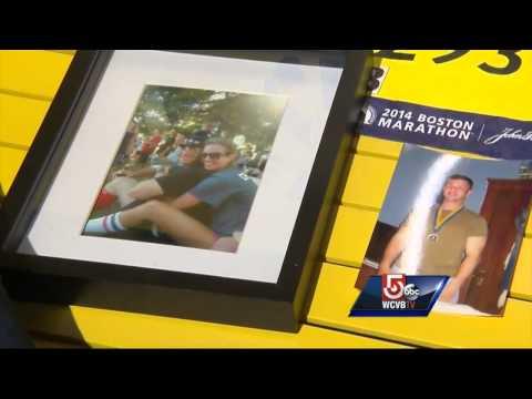 Girlfriend of fallen firefighter to run Boston Marathon
