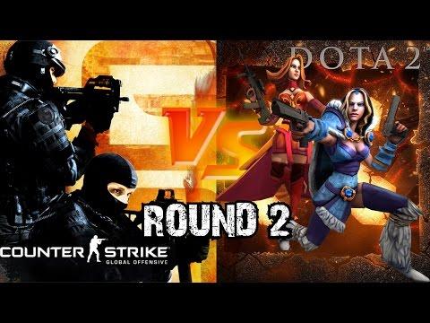 DOTA 2 vs CS:GO - Round 2 [SFM]