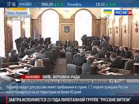 Правила въезда и срок допустимого пребывания граждан Украины на
