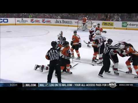 Harry Zolnierczyk DESTROYS Mike Lundin . Mar 2 2013