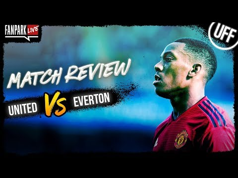 Manchester United 2-1 Everton - Goal Review - FanPark Live