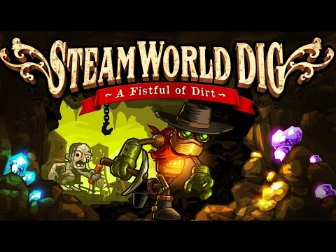 Gramy w SteamWorld Dig #1 kopiemy dziurę :D