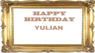 Yulian   Birthday Postcards & Postales