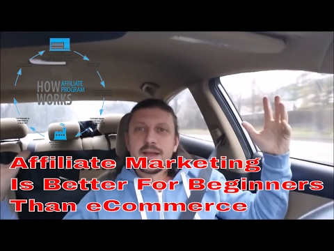 Why Affiliate Marketing is Better Than eCommerce for Beginners   No Risk Way To Develope Skills