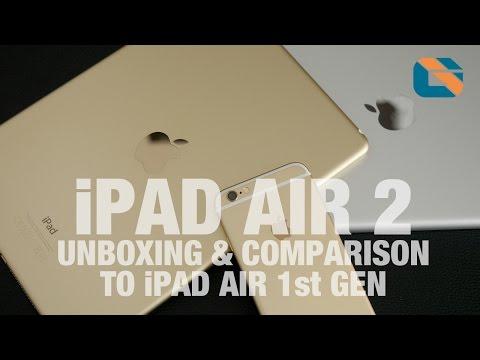 Apple iPad Air 2 Unboxing & iPad Air 1st Gen Comparison
