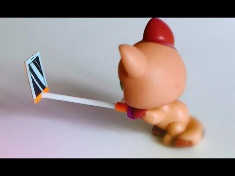 Как сделать СЕЛФИ ПАЛКУ для игрушек!