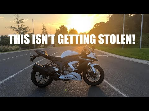 THIS NINJA 636 IS NOT GETTING STOLEN - MOTORCYCLE GPS TRACKER