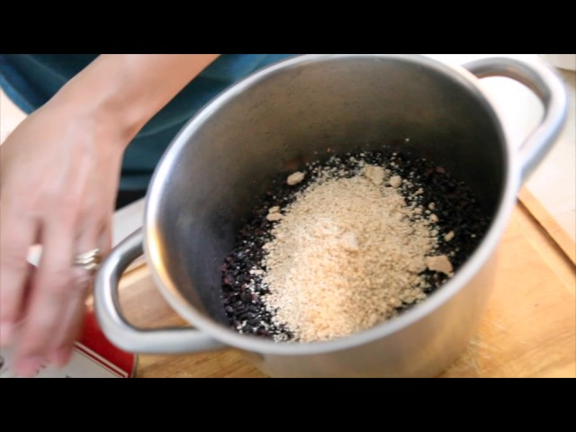 INRG TV   MEFood  Sesame Black Rice Preparation with Lisa Ralston 540p