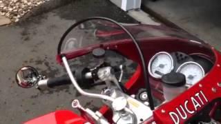 Ducati Sport 1000S bar risers