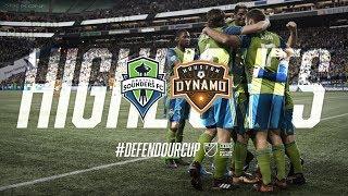 Highlights: Seattle Sounders FC vs Houston Dynamo | November 30, 2017 | Western Conf. Championship