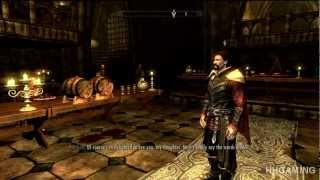 Skyrim Dawnguard - walkthrough part 4 HD gameplay dlc add on expansion - Vampire lord