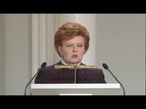 Vaira Vike-Freiberga on emerging donors at Kapuscinski development lectures (full video)